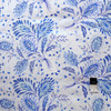 Dena Designs LIDF008 Sunshine Heather Navy Linen Fabric By Yard