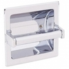 Commercial 607P Recessed Toilet Tissue Dispenser Chrome