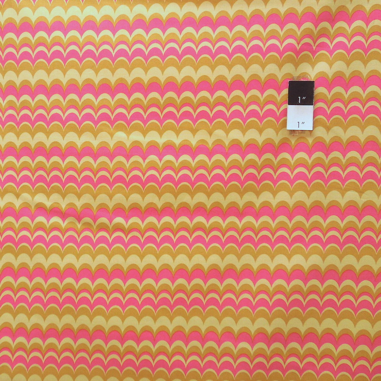 Joel Dewberry JD56 Heirloom Marbled Stripe Green Cotton Fabric By Yd