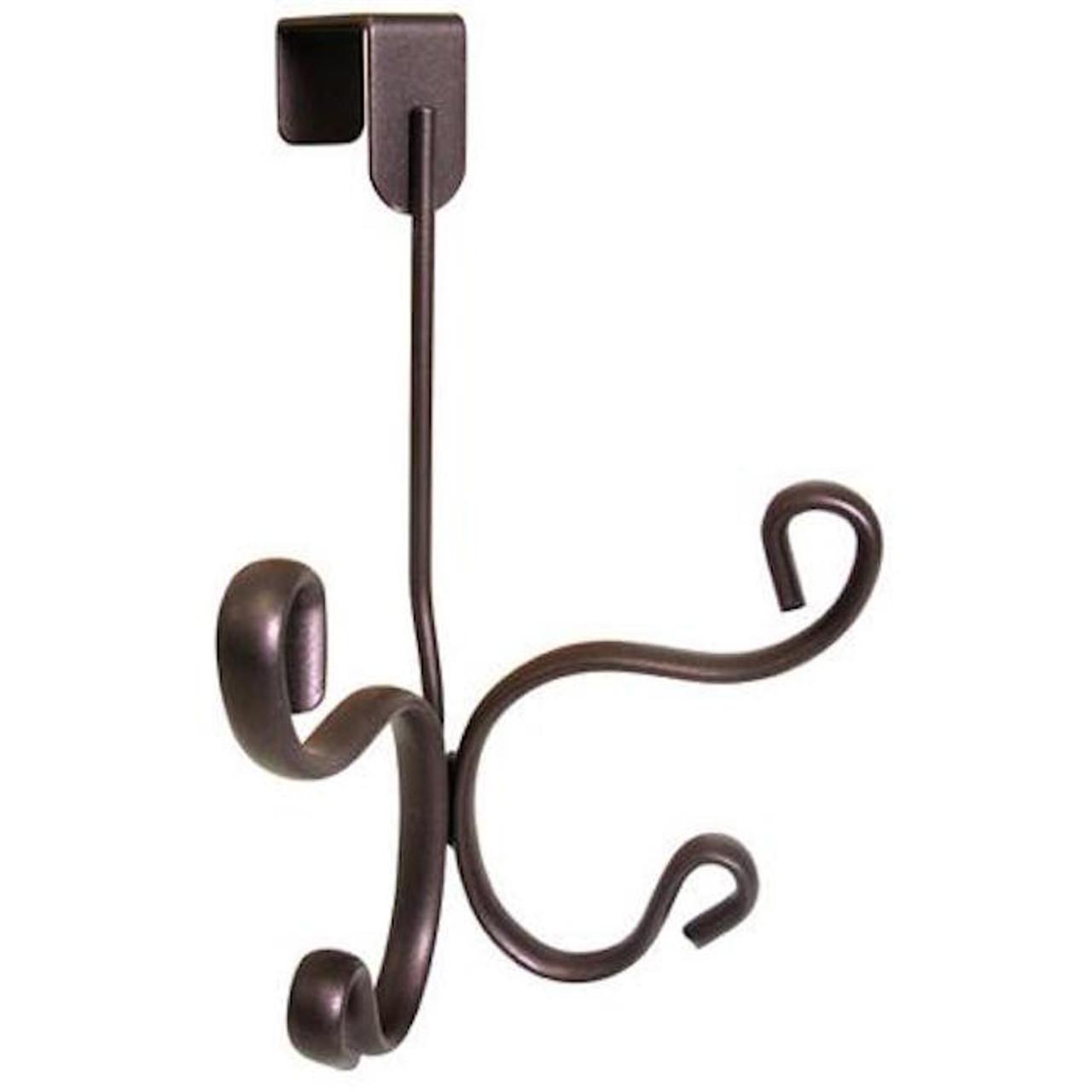 02243W Interdesign Over The Door Scroll Robe Hook