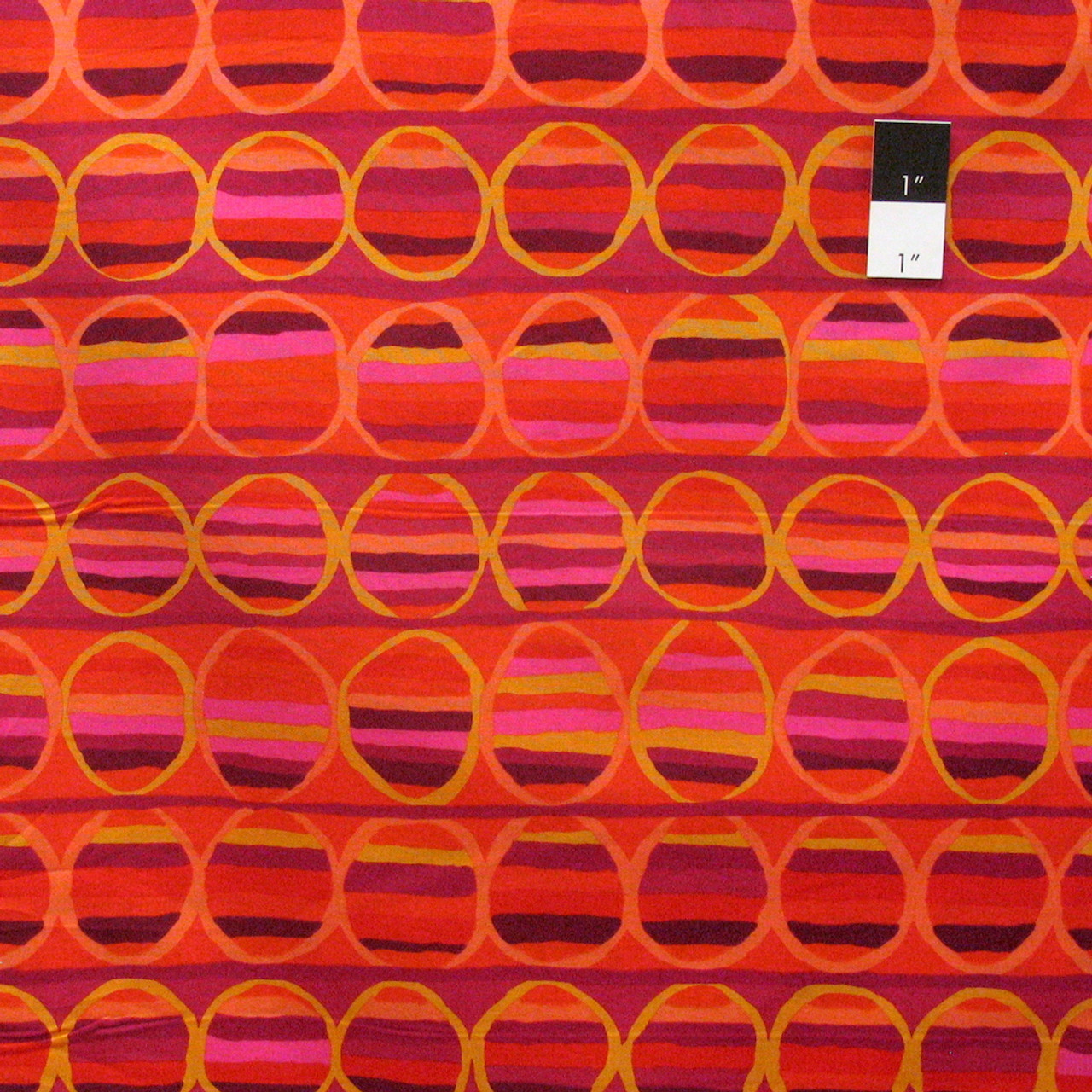 Brandon Mably PWBM055 Heat Wave Green Quilting Cotton Fabric 1 Yards