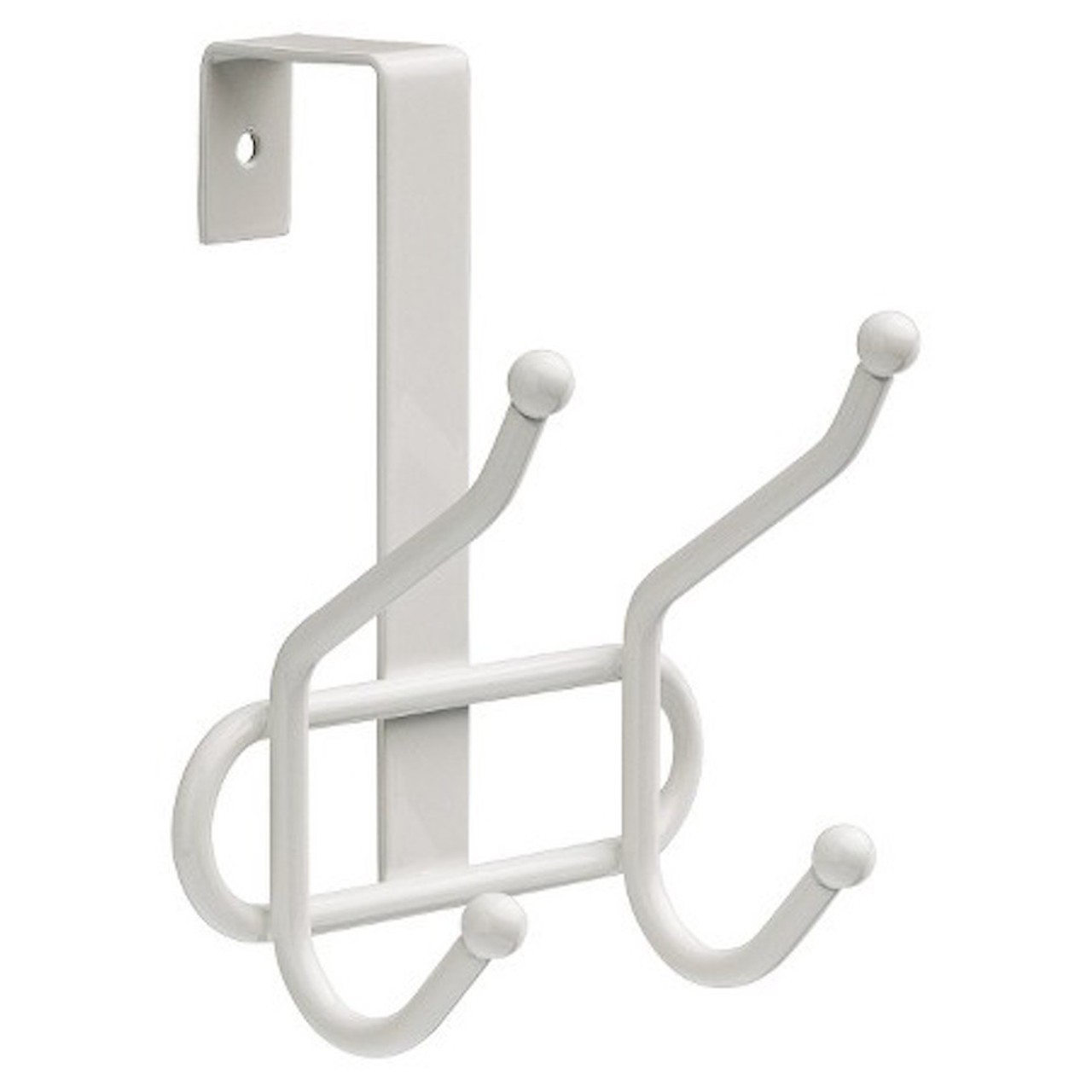085-03-04373 Room Essentials White Over The Door Coat Hat Robe Hook