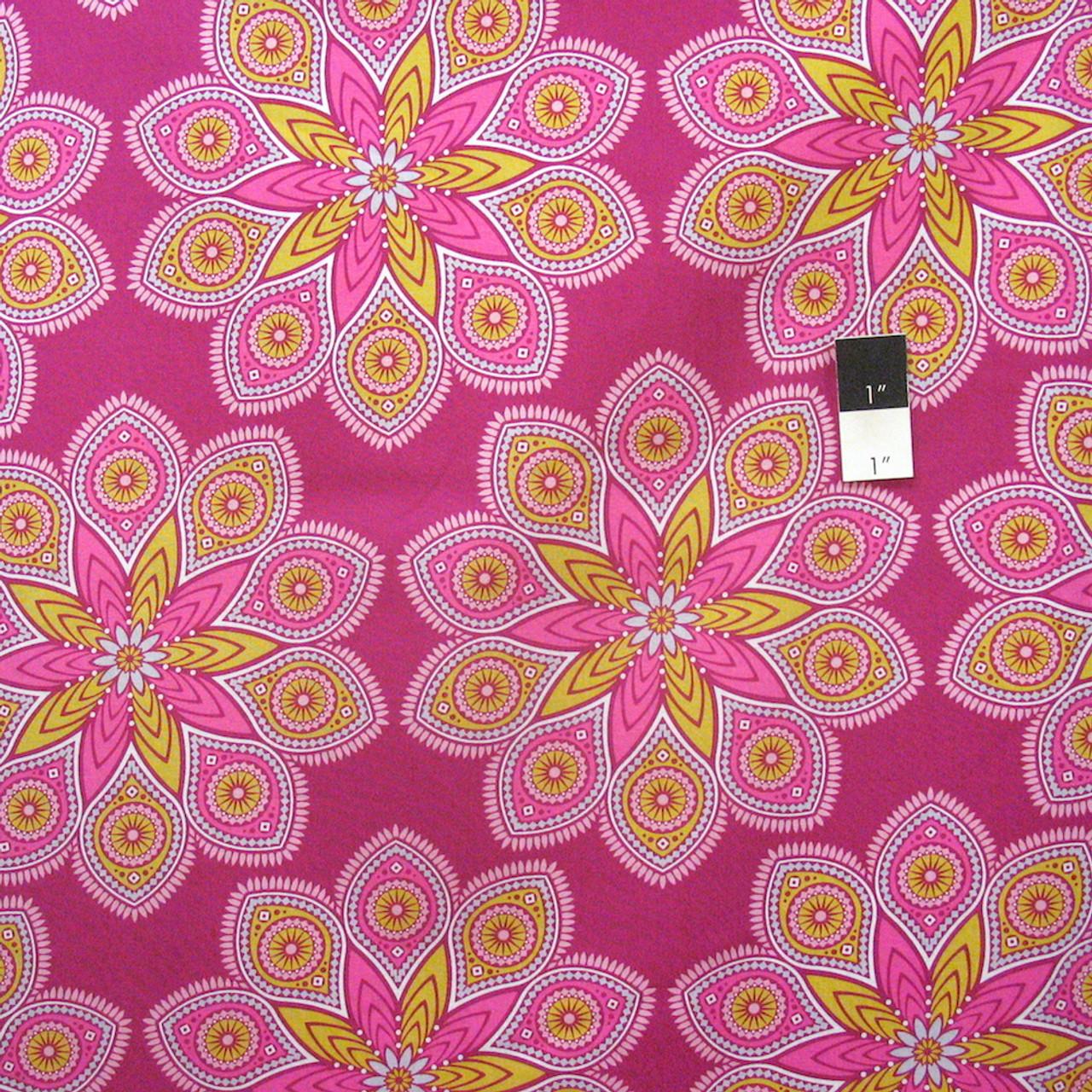 Joel Dewberry PWJD118 Wander Triangles Rosetta Cotton Fabric By Yd