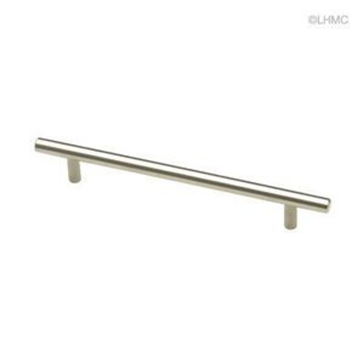 "9427086 Stainless Steel Bar Cabinet Drawer Pull Knob 6 1/4"" Centers"