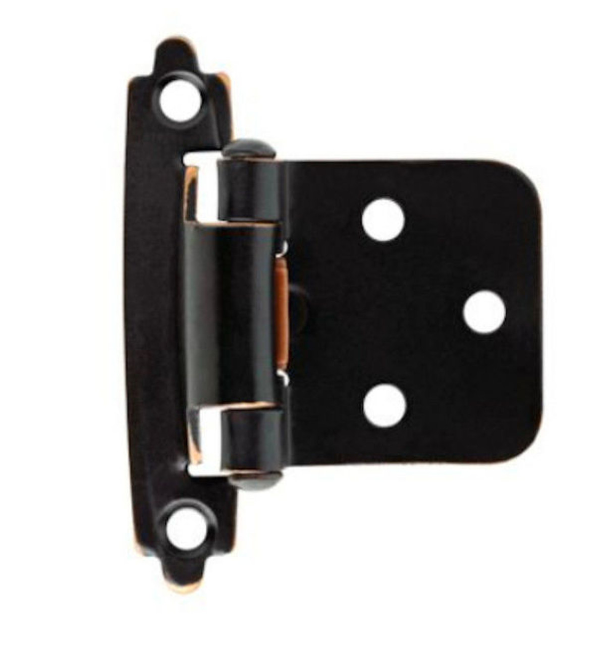 H0103BC-VBC Bronze & Copper Self Closing Overlay HInge 2 Pack