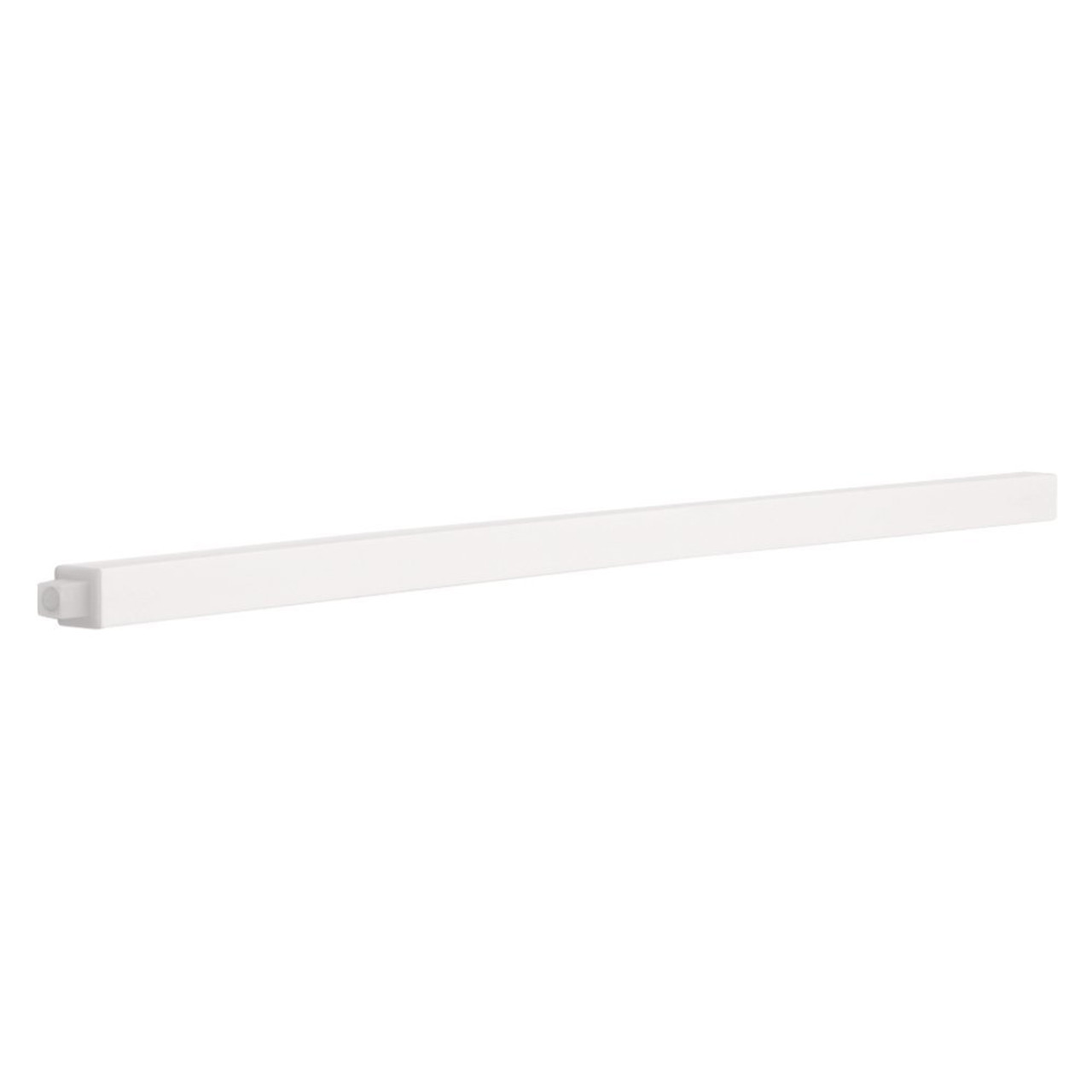 """Franklin Brass 662308 Spring Loaded Replacement 24"""" Square Towel Bar White"""