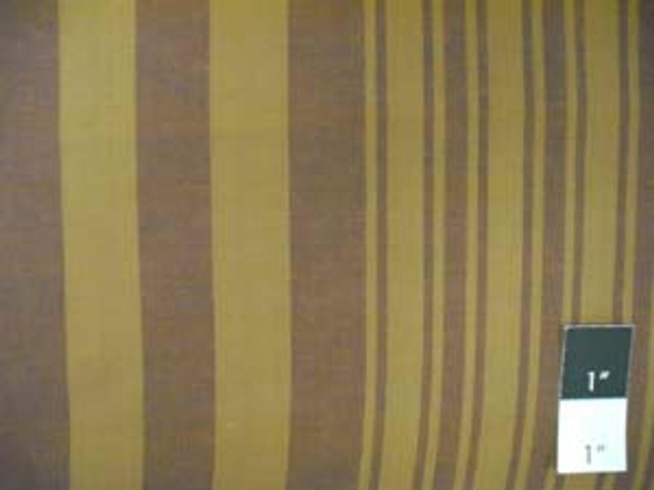 Kaffe Fassett Woven 2 Tone Stripe Gold Cotton Fabric 15 Yd Bolt