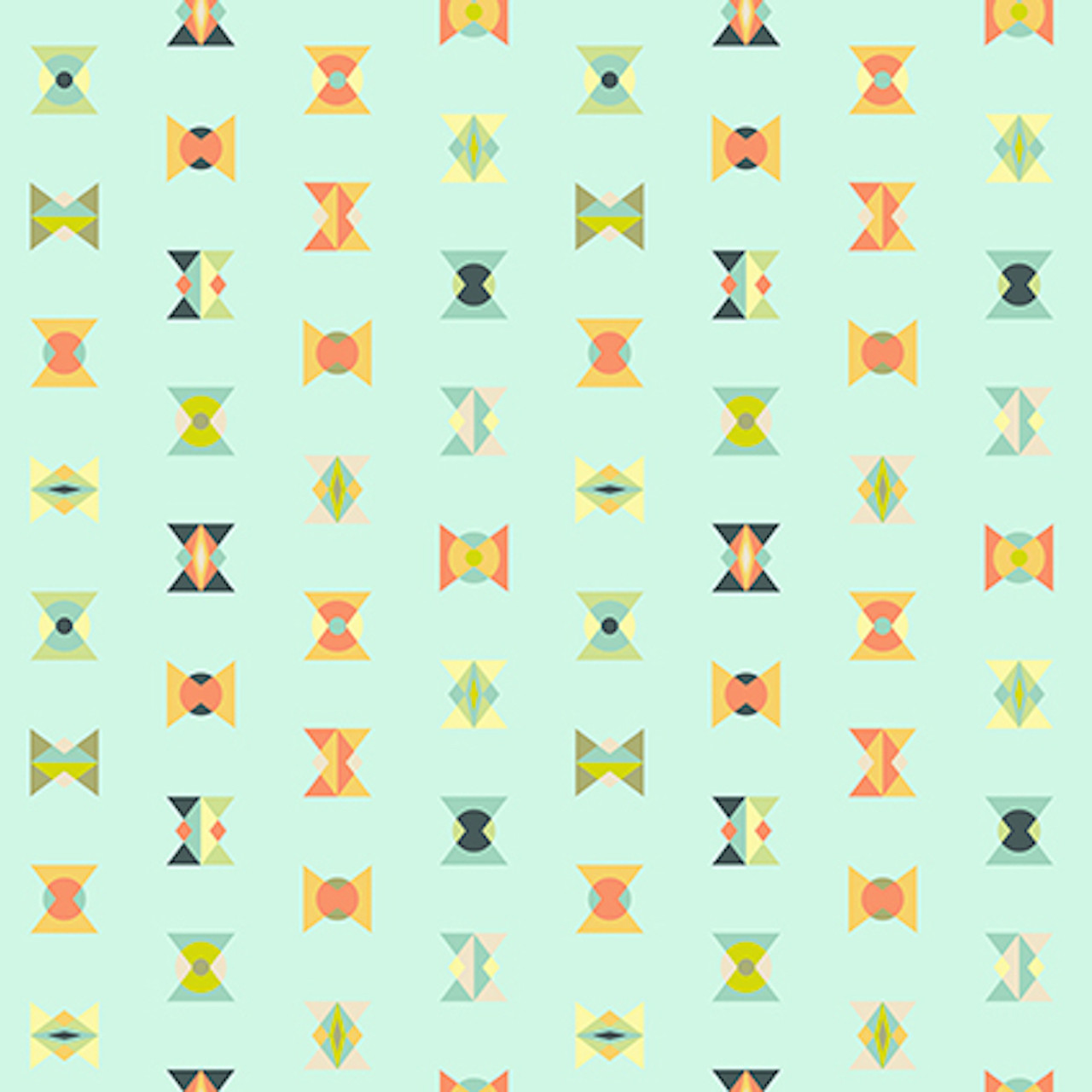 Tula Pink PWTP043 Spirit Animal Arowheads Sunkissed Cotton Fabric By Yard