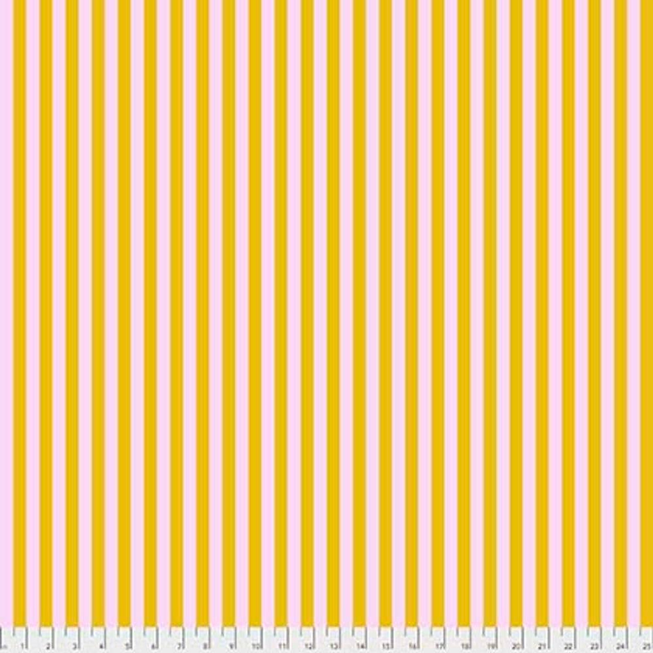Tula Pink PWTP069 All Stars Tent Stripe Marigold Cotton Fabric By Yard
