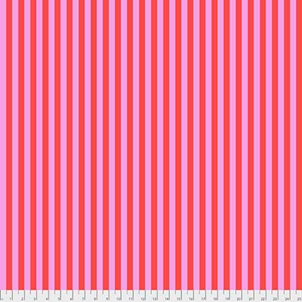 Tula Pink PWTP069 All Stars Tent Stripe Myrtle Cotton Fabric By Yard