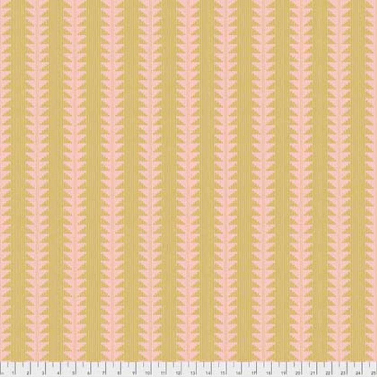 Joel Dewberry Avalon PWJD155 Arrow Blush Cotton Fabric By Yd