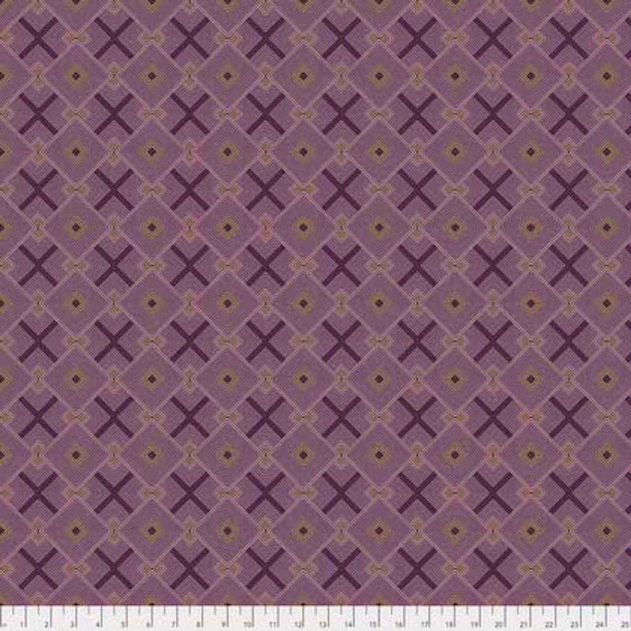 Joel Dewberry Avalon PWJD158 Squared Blush Cotton Fabric By Yd