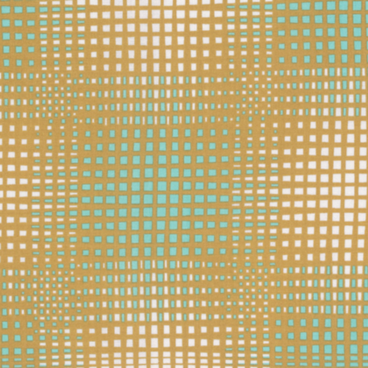Joel Dewberry PWJD138 Modernist Vignette Turquoise Cotton Fabric By Yard
