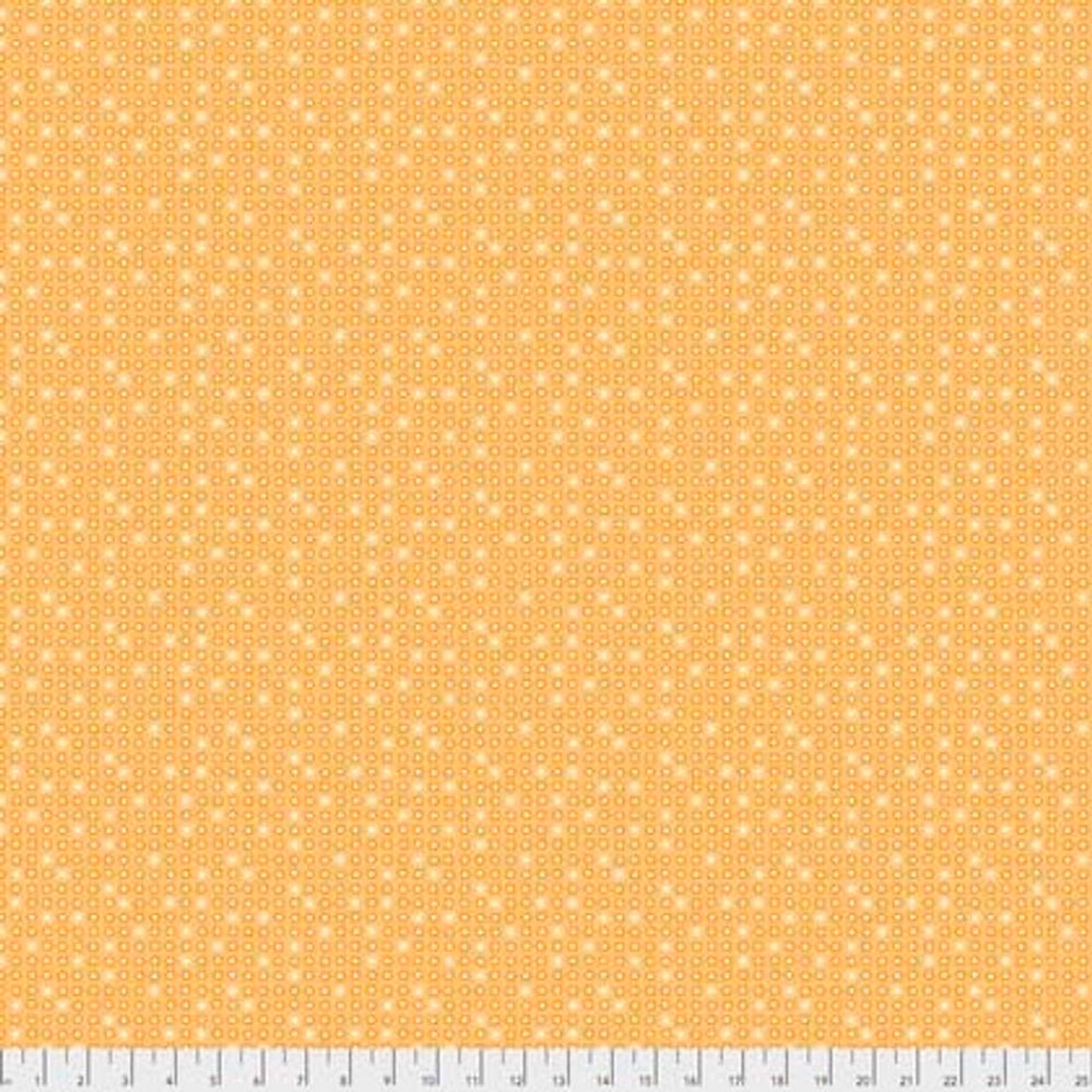 Coats PWCC013 Daisy Daze Daisies Yellow Cotton Quilting Fabric By Yd