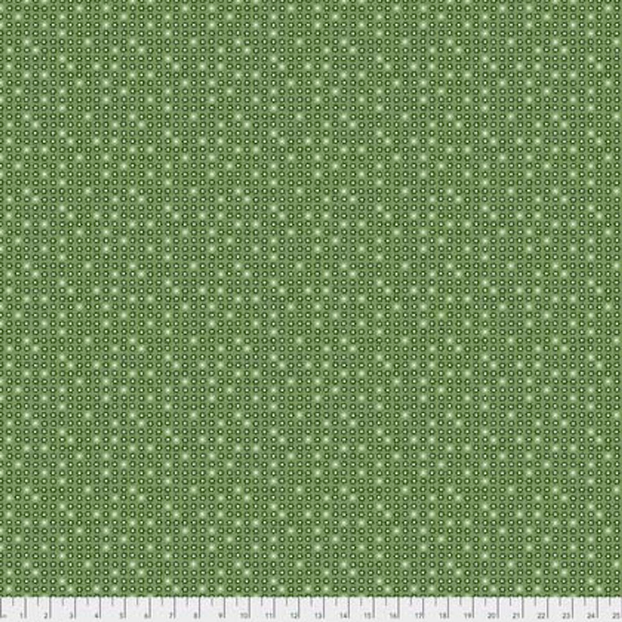 Coats PWCC013 Daisy Daze Daisies Green Cotton Quilting Fabric By Yd
