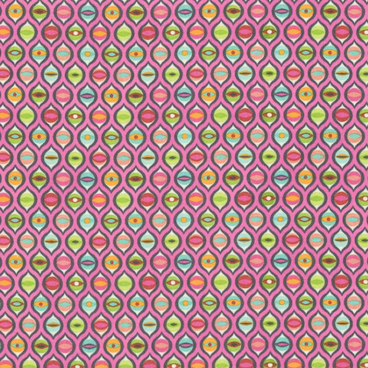 Tula Pink PWTP095 Tabby Road Cat Eyes Marmalade Skies Cotton Fabric By Yard