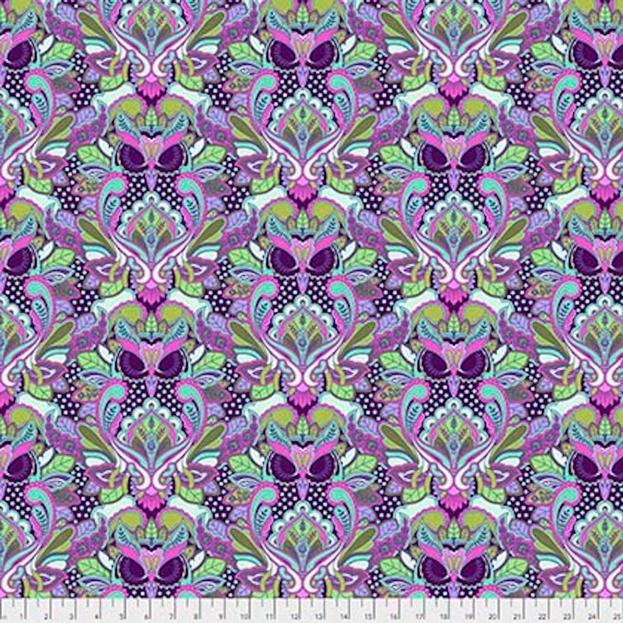 Tula Pink PWTP117 All Stars Owl Petunia Cotton Fabric By Yard