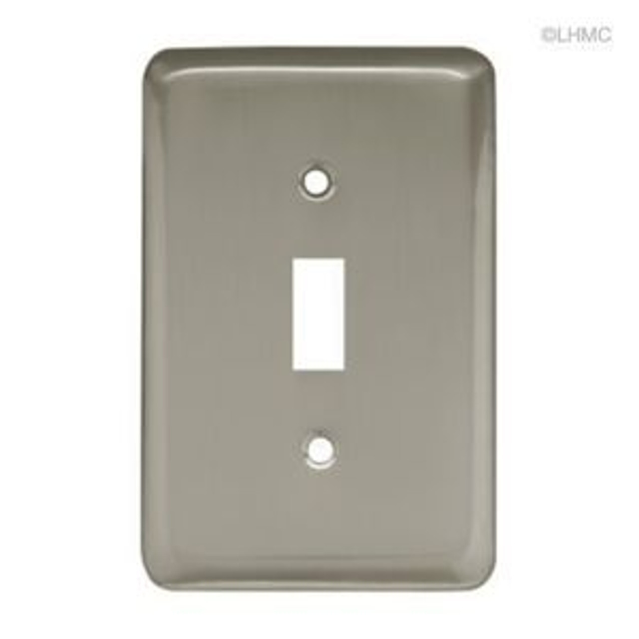 Franklin Brass W10245-SN Stamped Brushed Satin Nickel Single Switch Cover Plate