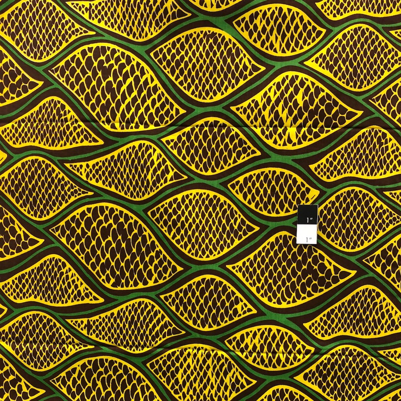 Genuine African Printex Arate Collection S-50017 Cotton Fabric By The Yard