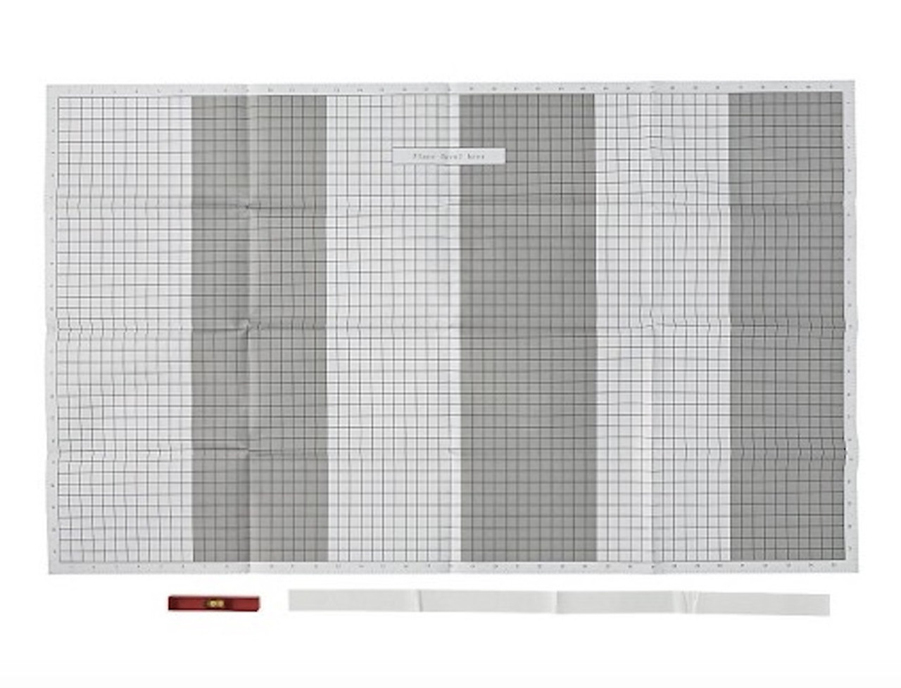 Arrow 172222 Tear Away Picture Hanging Grid Paper 6 Sheets
