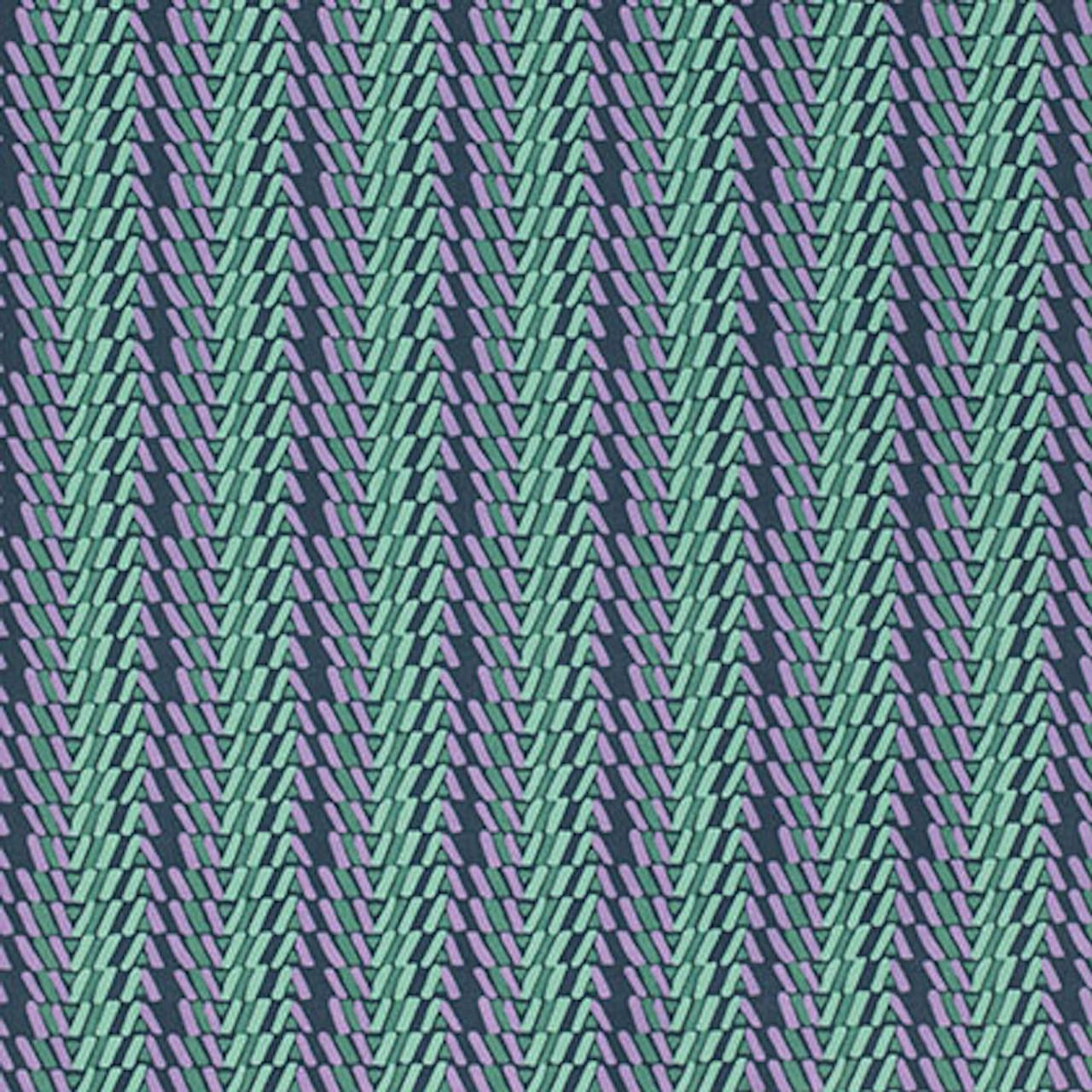 Amy Butler PWAB151 Bright Heart Rhythm Stripe Dusk Cotton Fabric By Yard