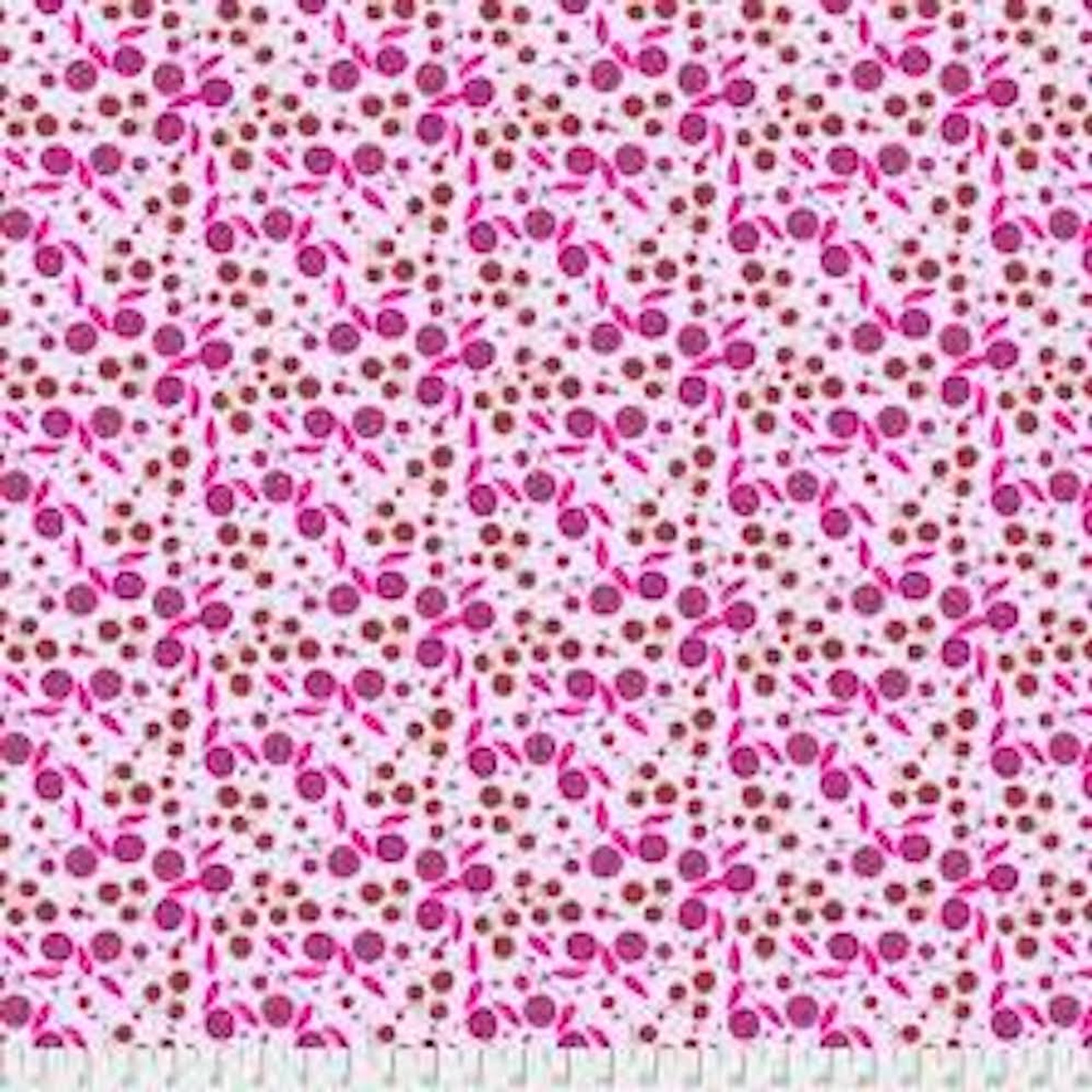 Shannon Newlin Garden Dreams PWSN0014 Very Berry Lavender Cotton Fabric By Yd