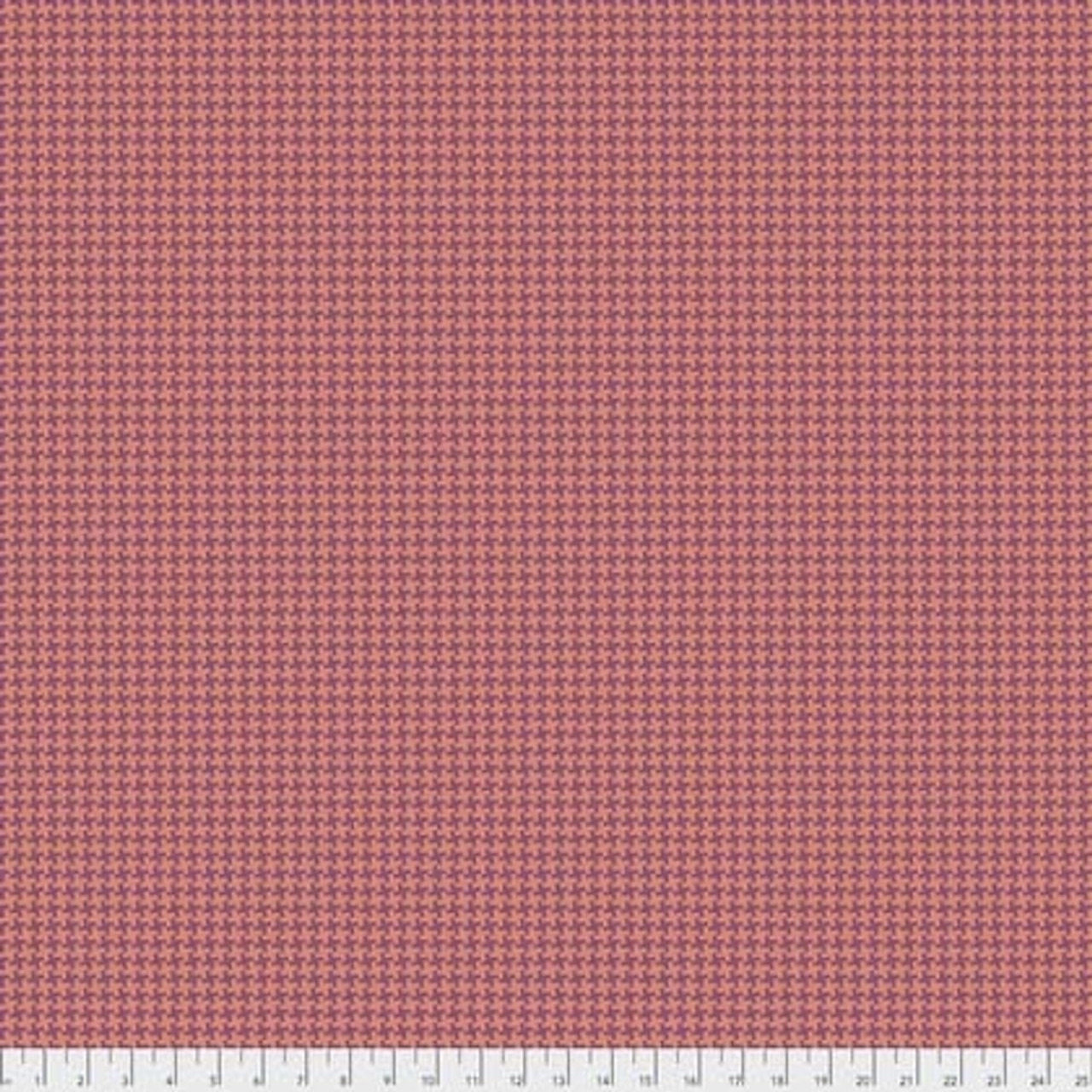 Joel Dewberry Avalon PWJD156 Houndstooth Orange Cotton Fabric By Yd