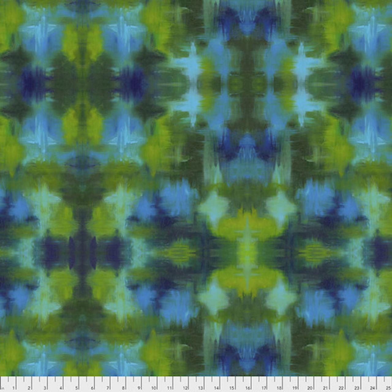 Sue Penn PWSP005 Garden Bright Terrace Garden Cotton Quilting Fabric By Yd