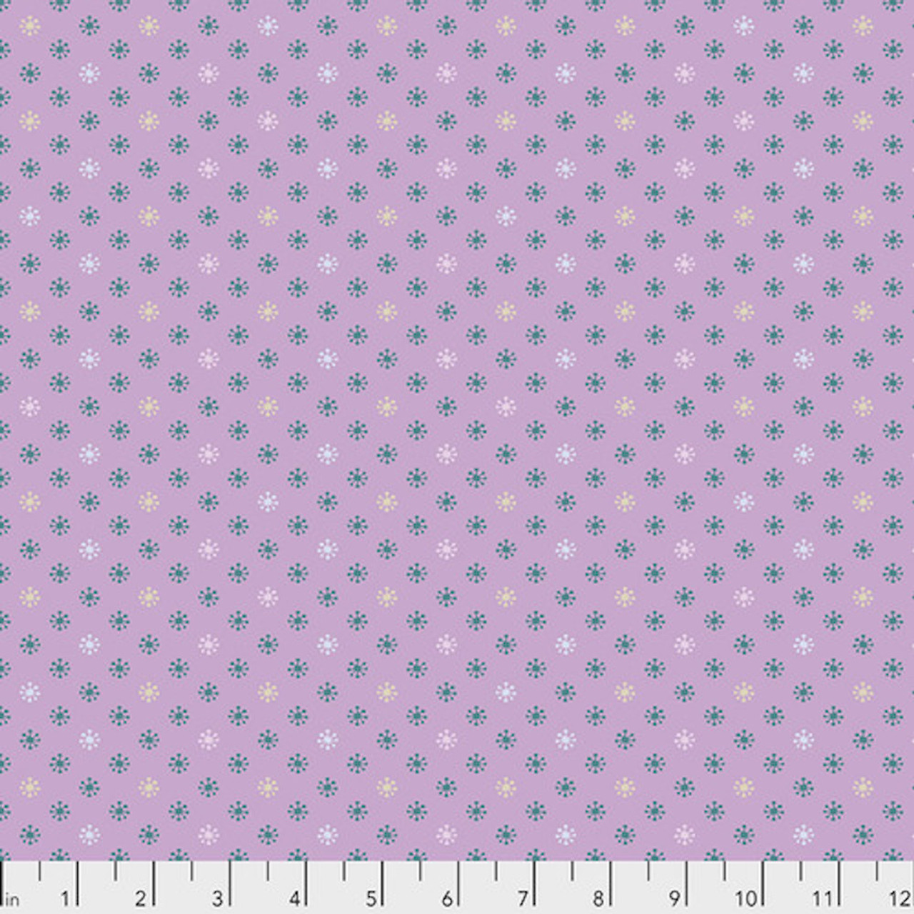 Kathy Doughty PWMO037 Seeds & Stems Sweet Gum Lavender Cotton Fabric By Yard