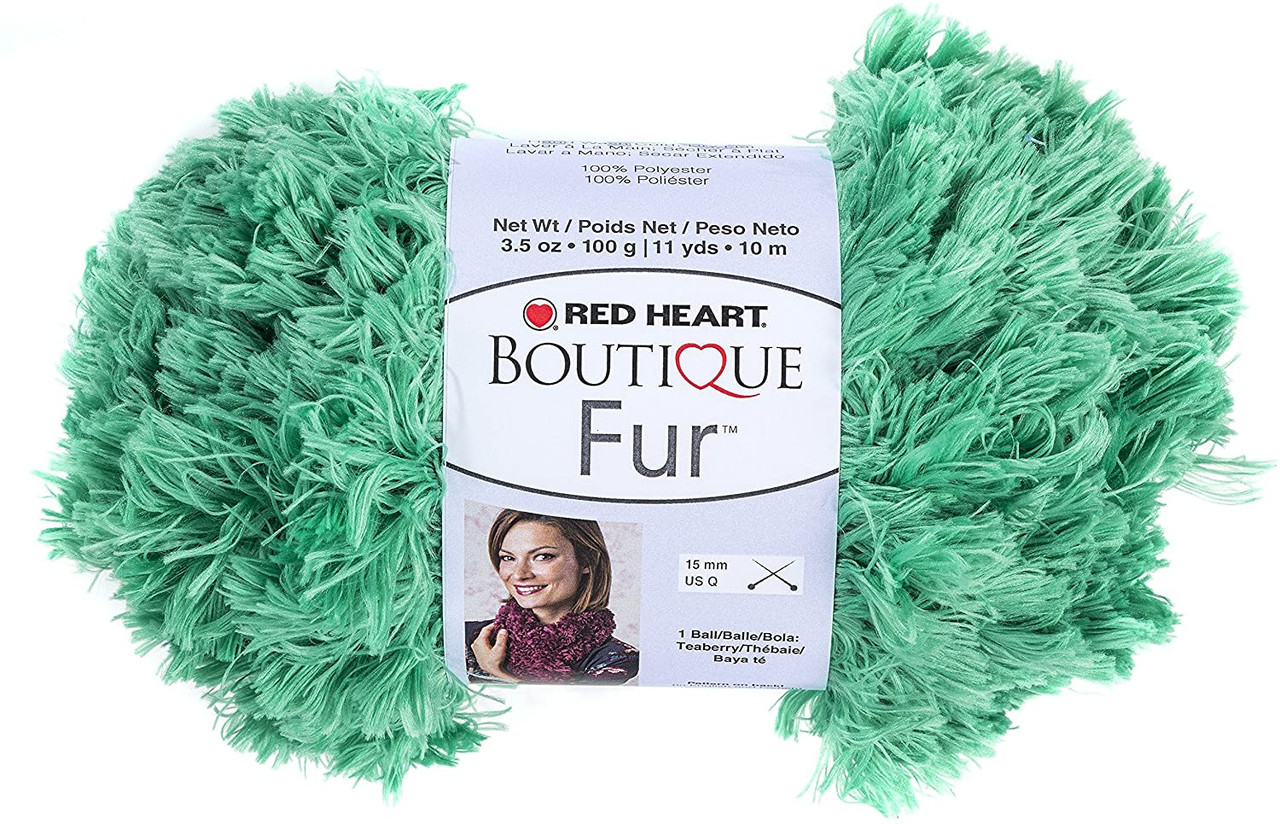 Red Heart Boutique Fur Seamist Knitting & Crochet Yarn