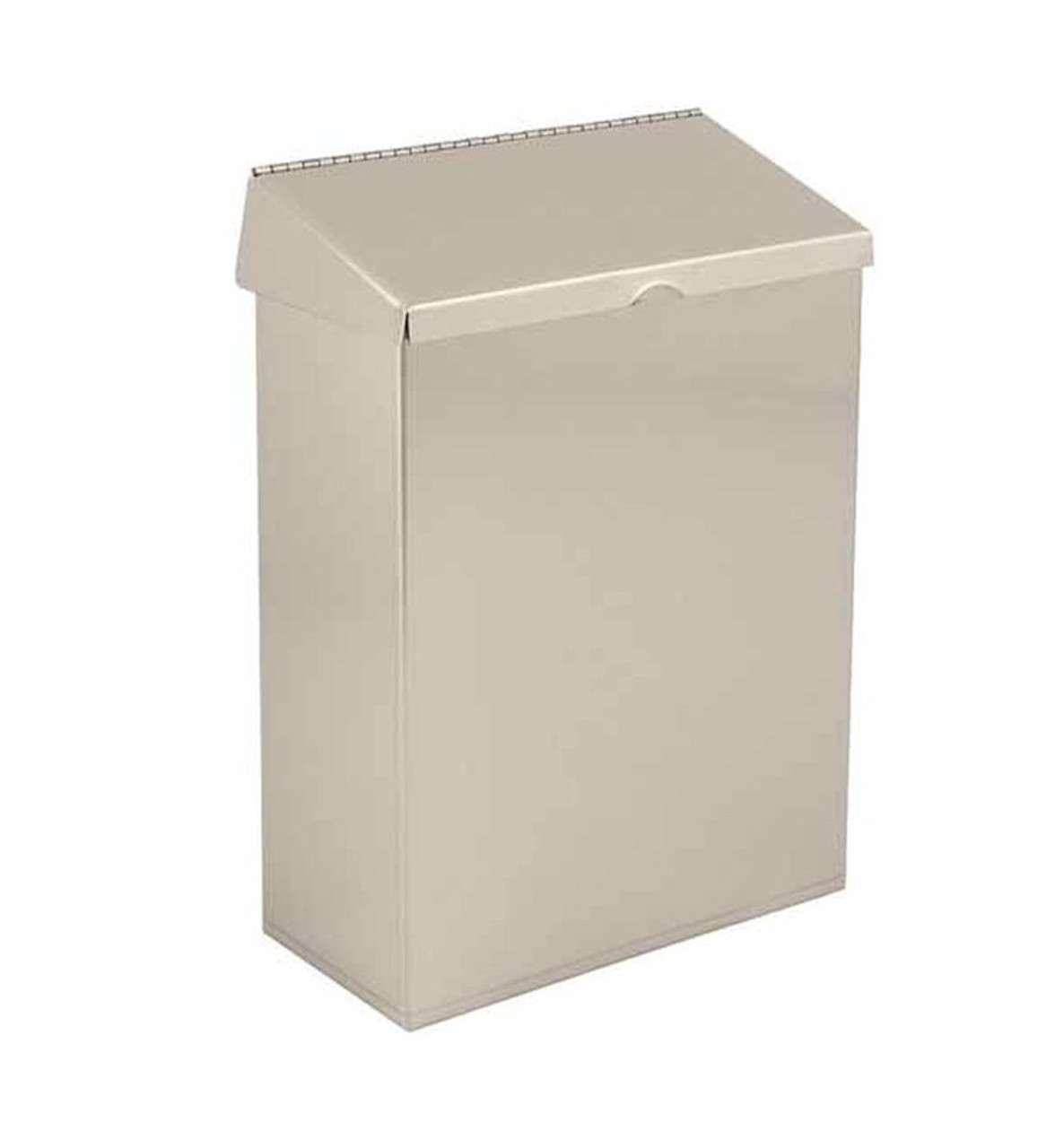 Commercial Delta Gamco 48100-SS Stainless Steel Sanitary Napkin Receptacle