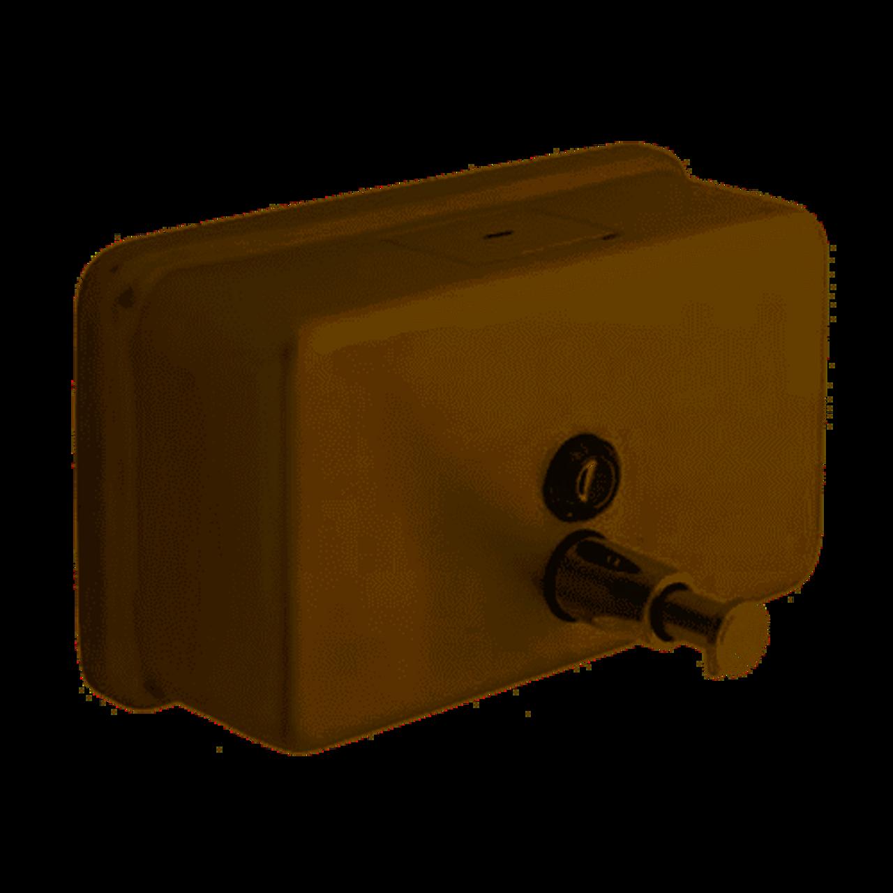 Bath Unlimited 1921 Commercial Surface-Mount Horizontal Liquid Soap Dispenser