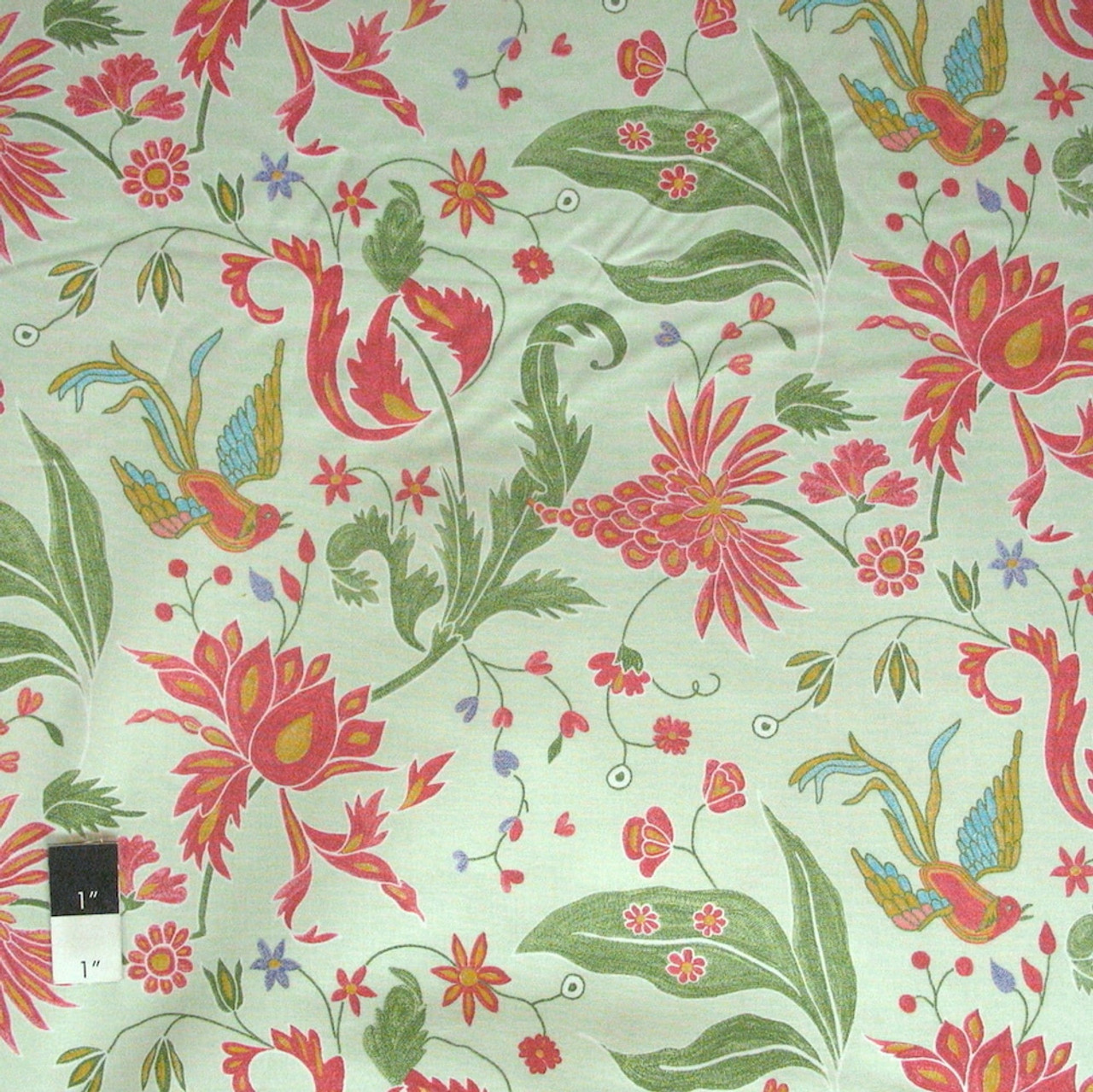 Victoria and Albert PWVA048 Bhandari Chambay Reena Cotton Fabric By The Yard
