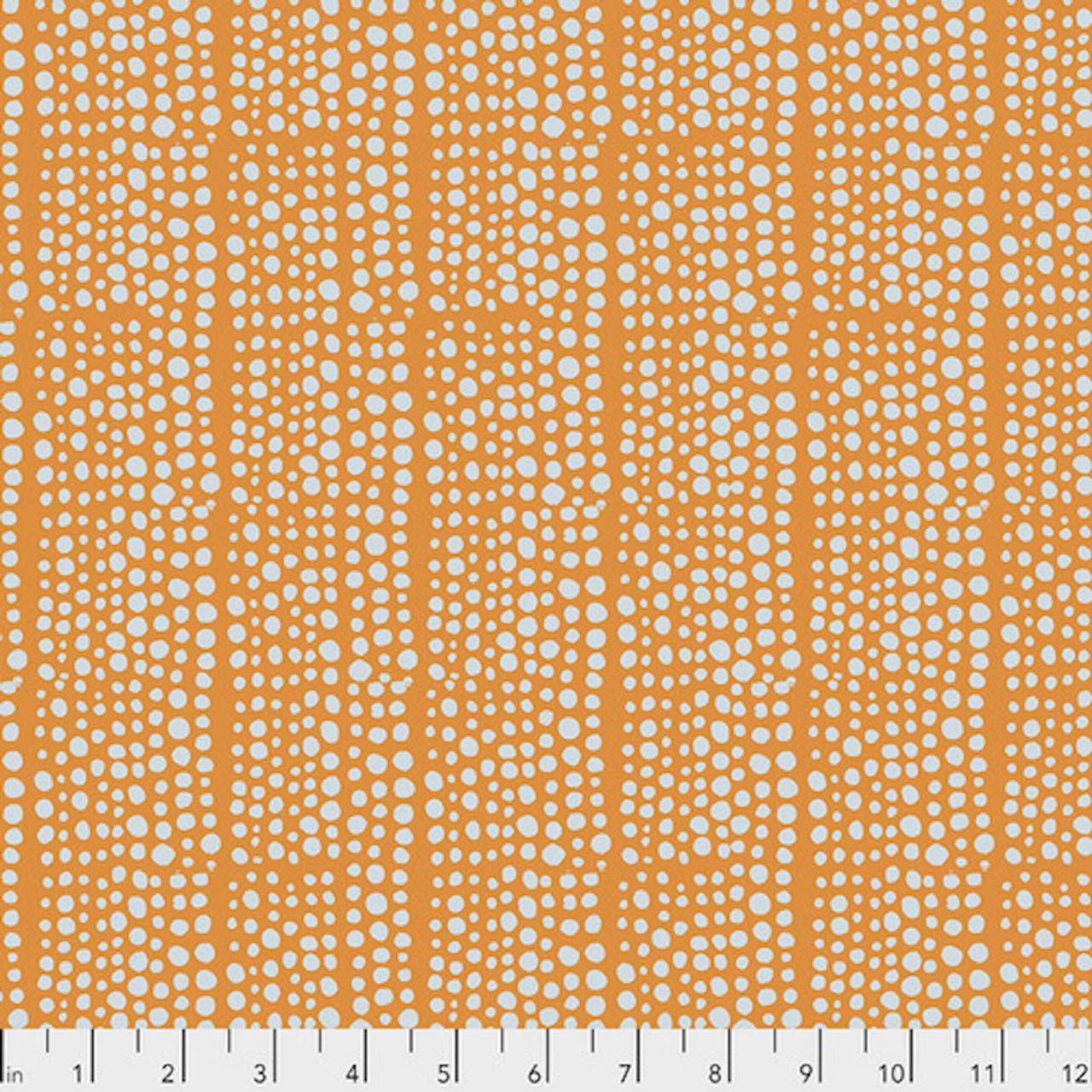 Valori Wells PWVW006 Murmur Dots Orange Cotton Fabric By Yard