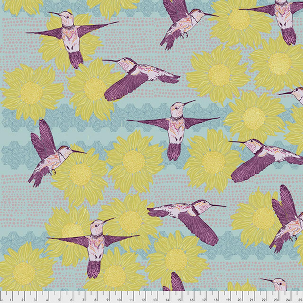 Valori Wells PWVW001 Murmur In Flight Sun Cotton Fabric By Yard