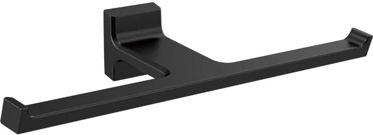 Delta 79955-BL Pivotal Double Toilet Paper Holder Matte Black Finish