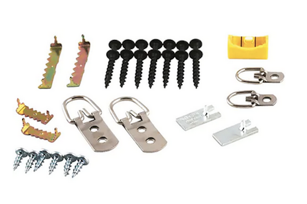 Project Basics 085-03-3941 Heavy Duty Professional Picture Hanger Kit