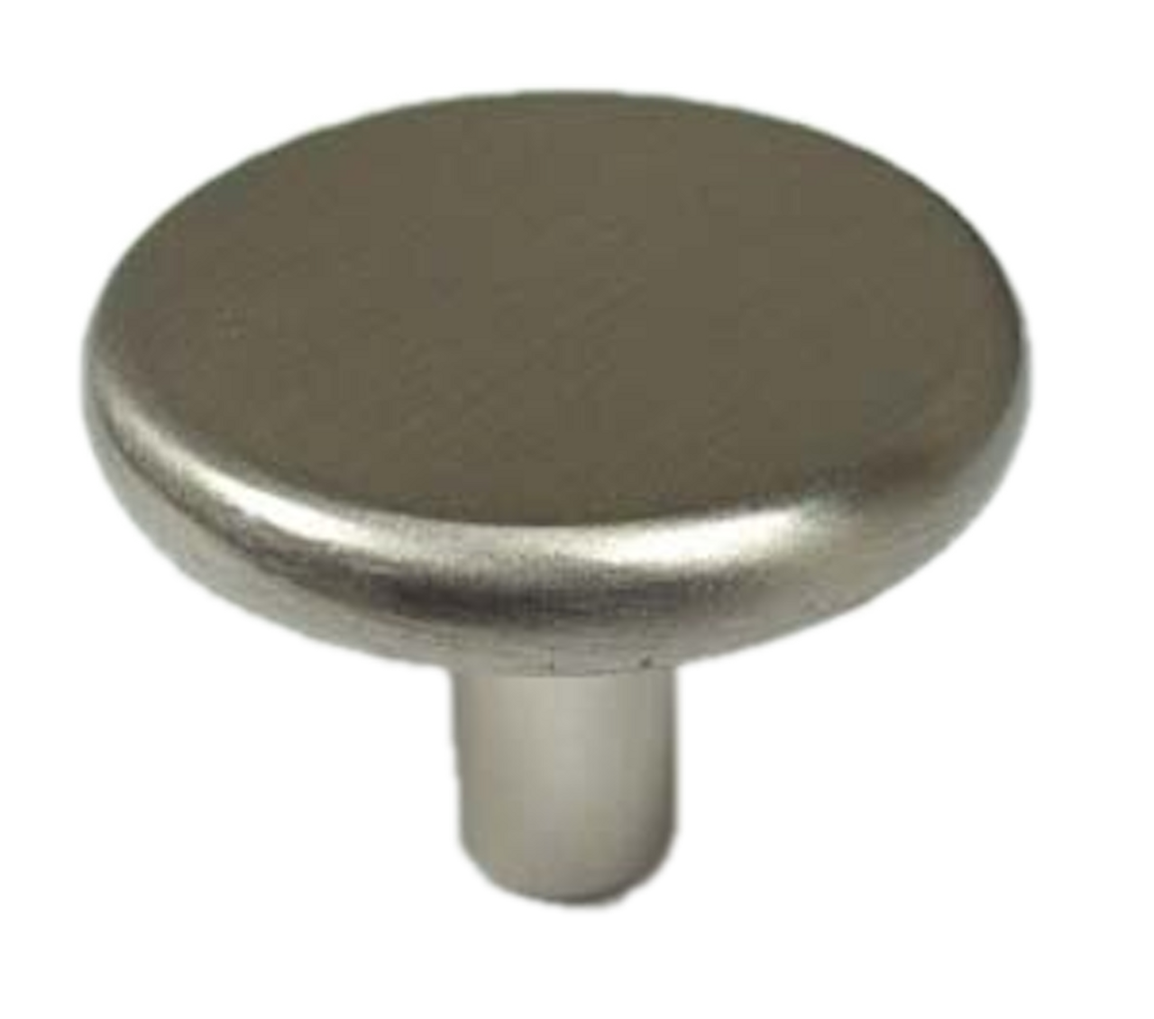 "Liberty 085-03-3470 1 1/8"" Satin NIckel Round Cabinet Drawer Knob 10 Pack"