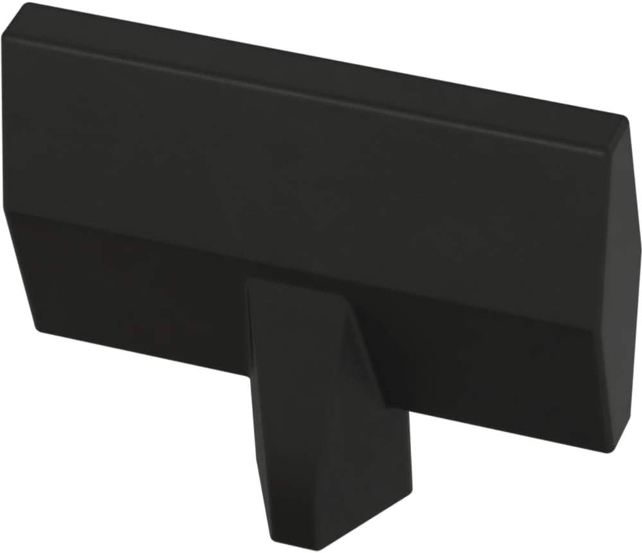 "Liberty P40851K-FB 1 7/16"" Gathered Blade Cabinet Drawer Knob Flat Black 10 Pack"