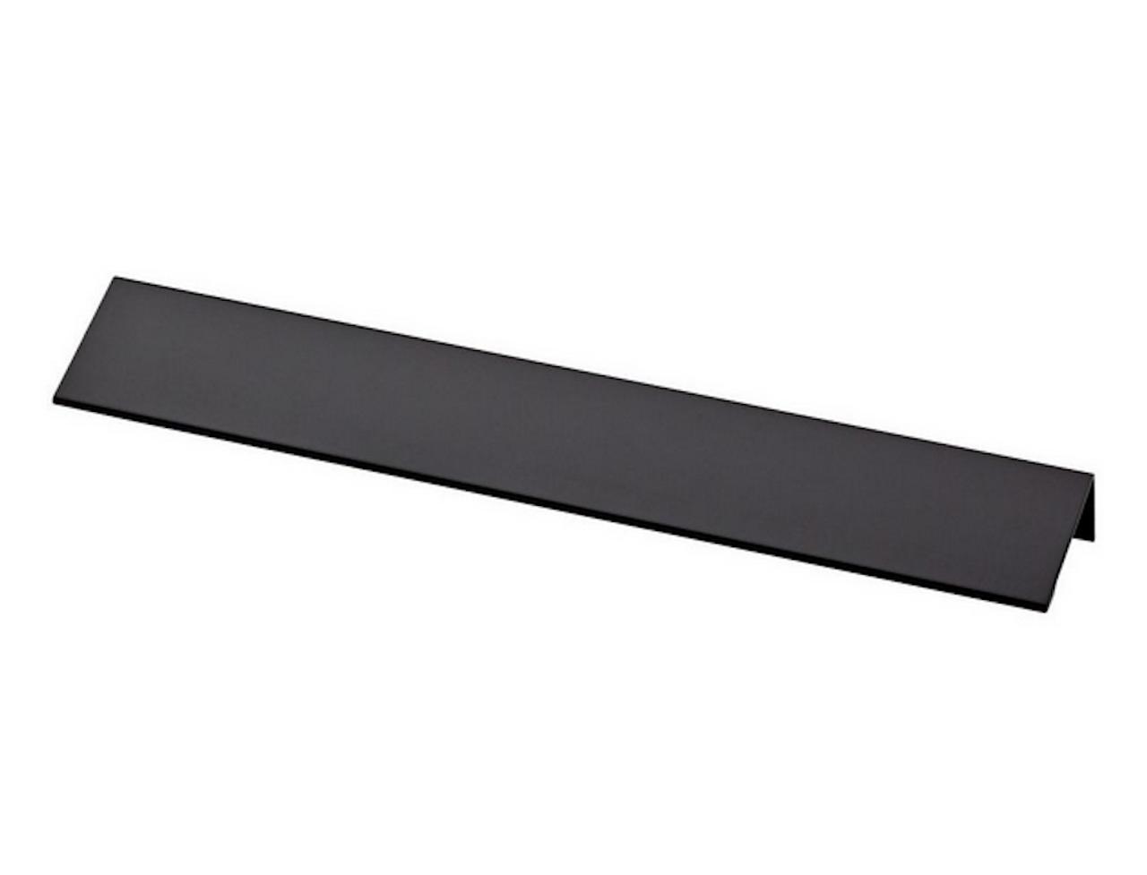 "Liberty P31677-FB  8 7/8"" 224mm Flat Black Modern Edge Drawer Pull"