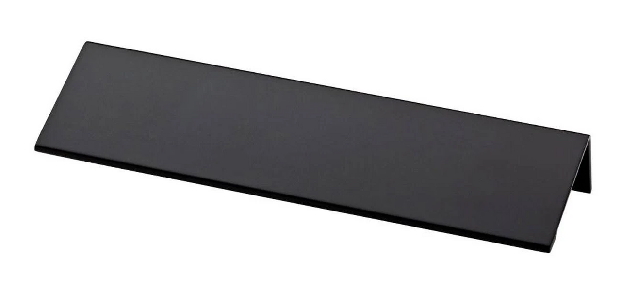 "Liberty P31674-FB  5 1/16"" 128mm Flat Black Modern Edge Drawer Pull"