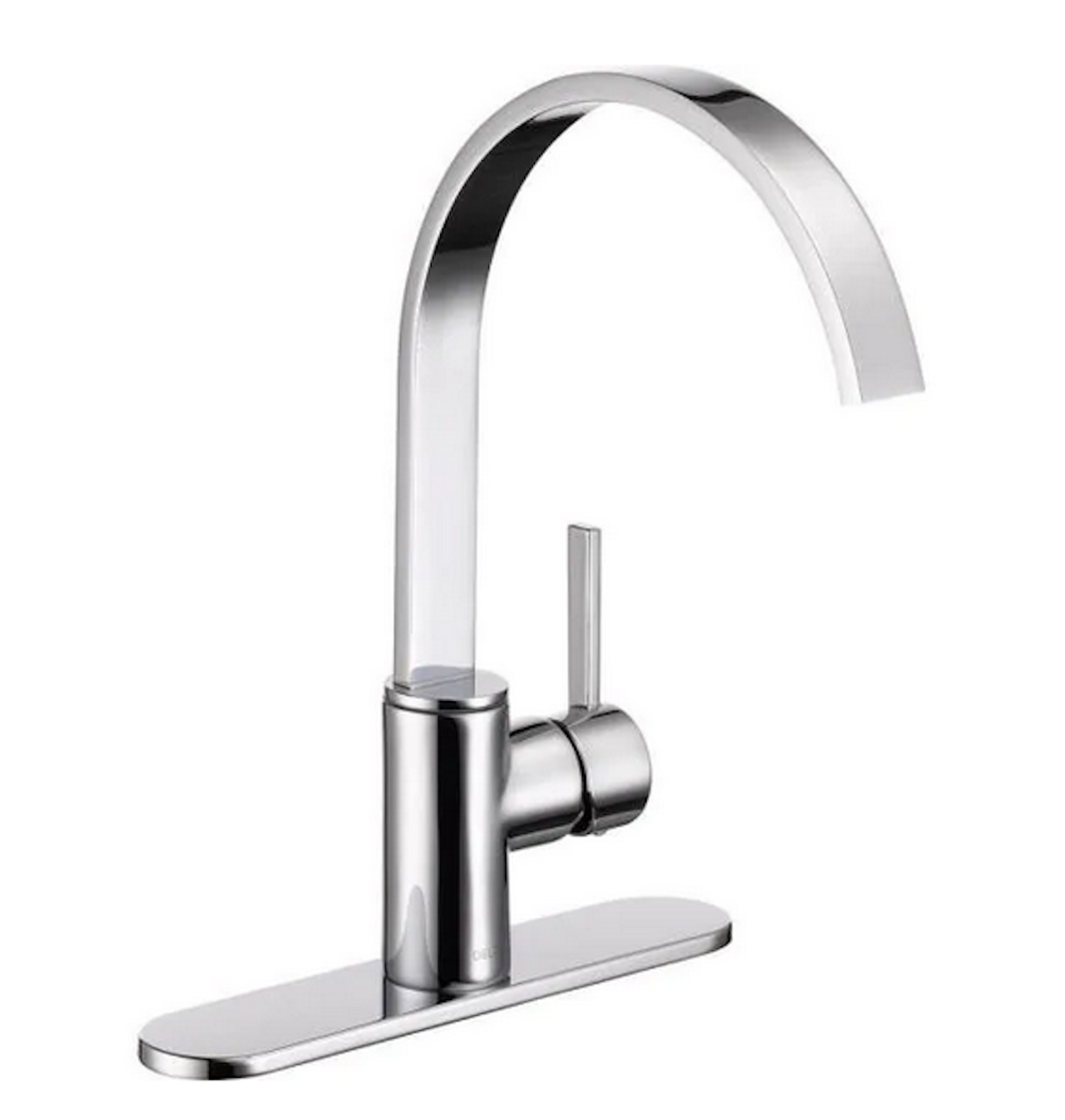Delta 26602LF Mandolin Single Hole Single Lever Kitchen Bath Faucet Chrome