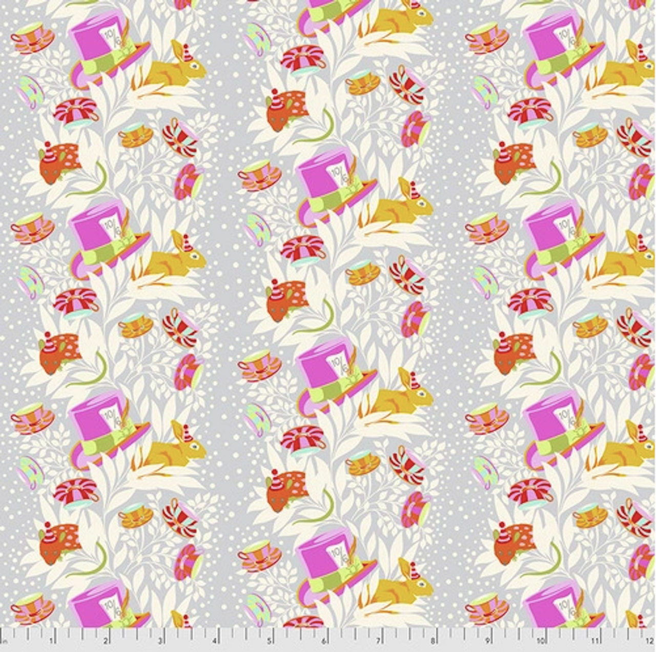 Tula Pink PWTP165 Curiouser & Curiouser 6pm Somewhere Wonder Cotton Fabric By Yd