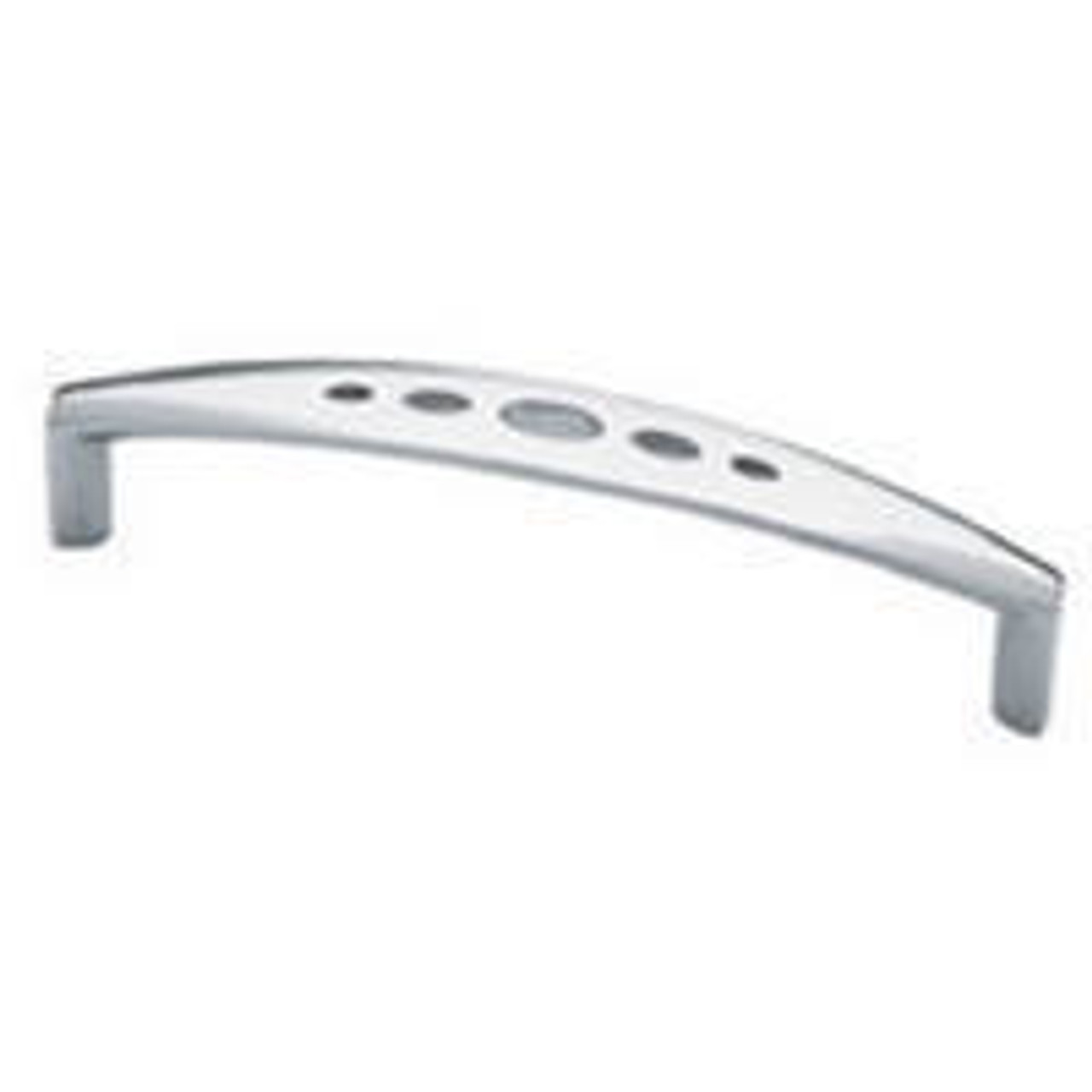 """P0279BV-PC-C Chrome Cut Out Design 3 3//4/"""" Cabinet Drawer Pull"""