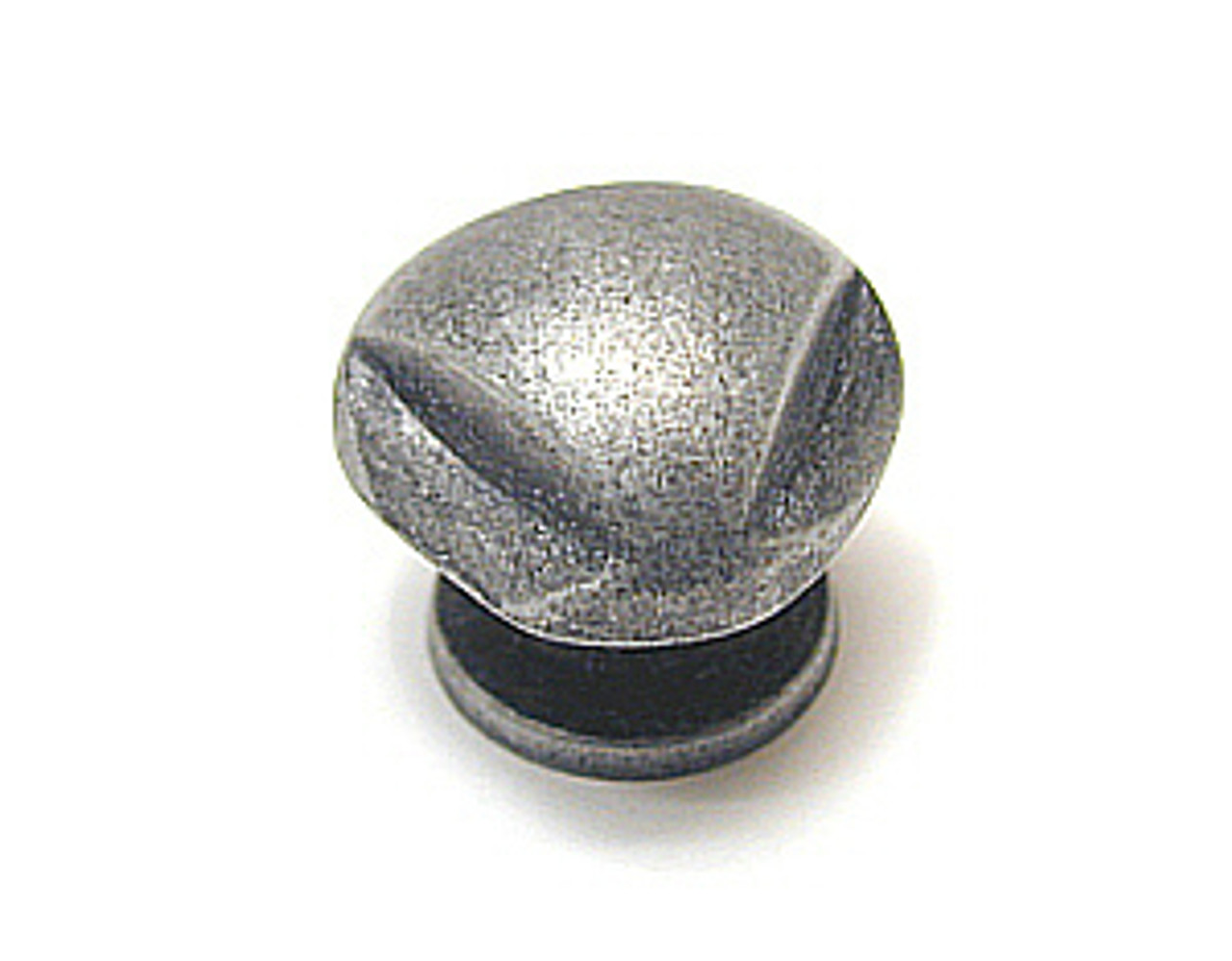 "A62923AP 7/8"" Antique Pewter Triangle  Cabinet Drawer Pull Knob"