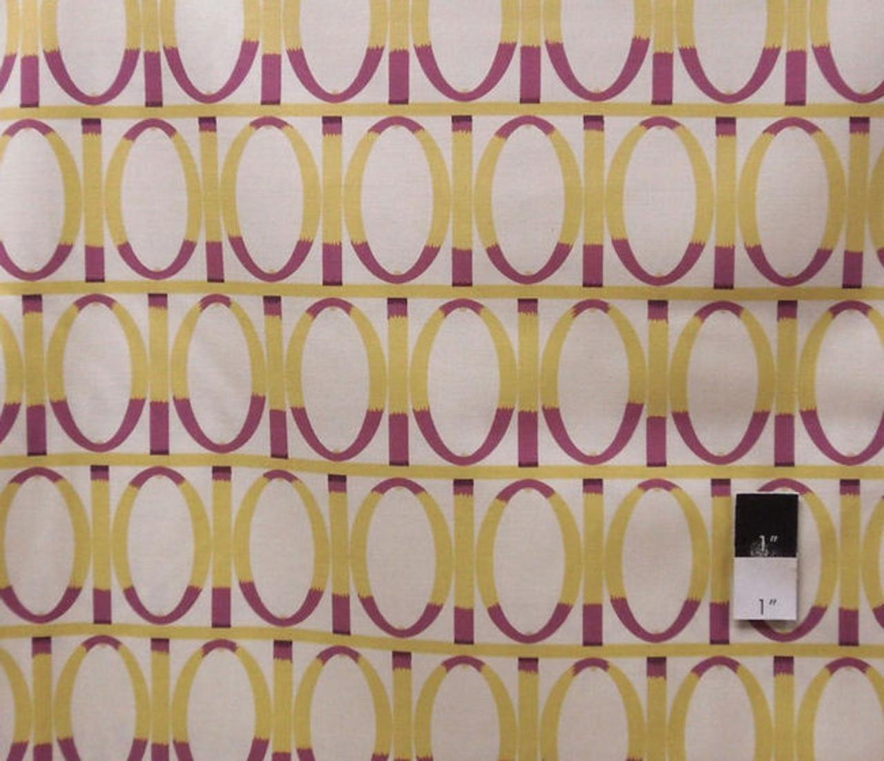 Martha Negley PWMN055 Farmington Gate Lime Fabric By Yard