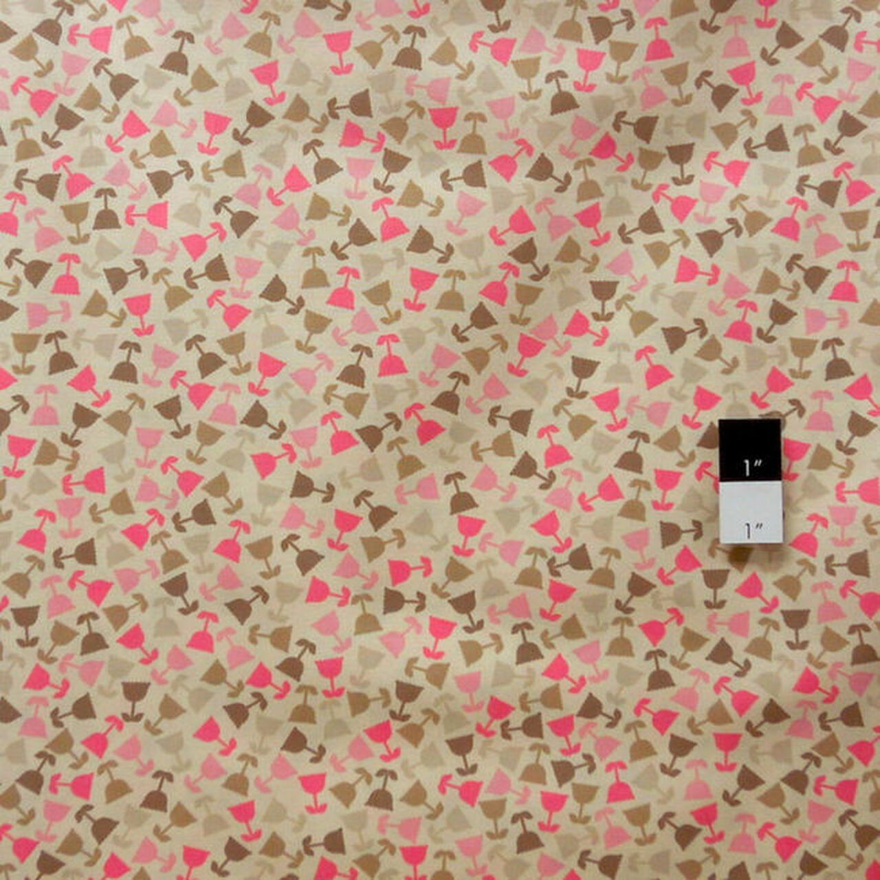 Jenean Morrison PWJM067 Grand Hotel Rooftop Garden Pink Fabric By Yd