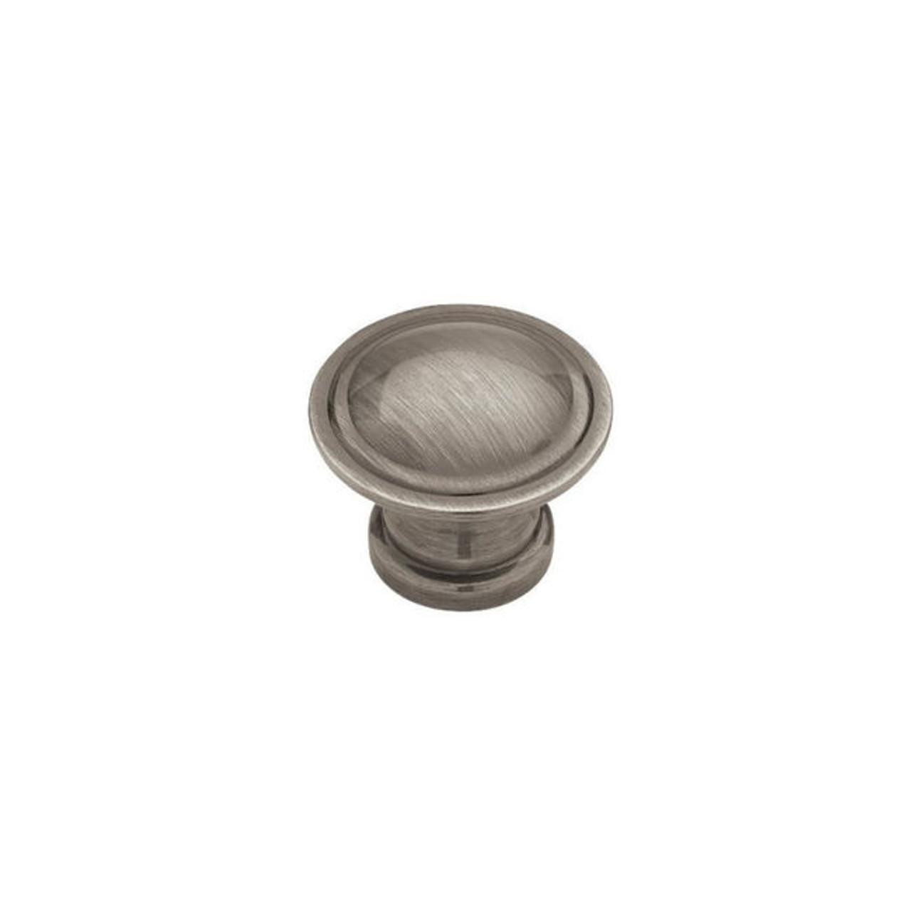 "PN0408C-BNP Brushed Nickel 1 1/8""  Cabinet Drawer Knob"