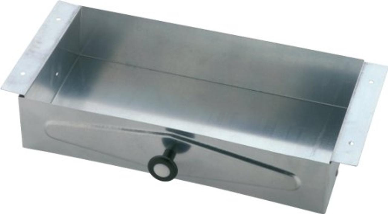 Commercial Delta 46090 Recessed Vanity Tissue Box Galvanized Steel