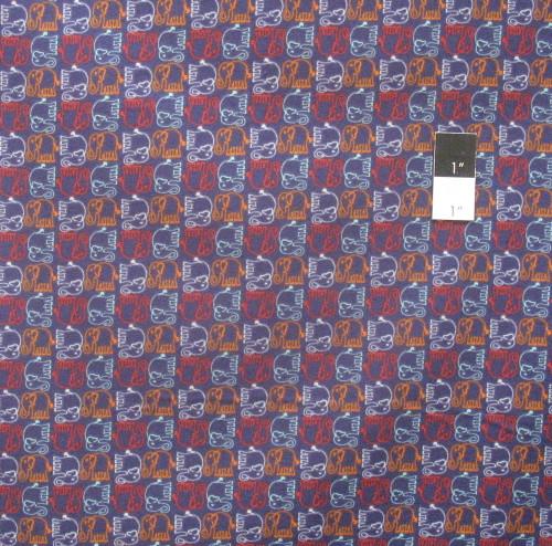 Valori Wells FAVW036 Bridget Lane Ellie Blueberry Flannel Fabric By Yd